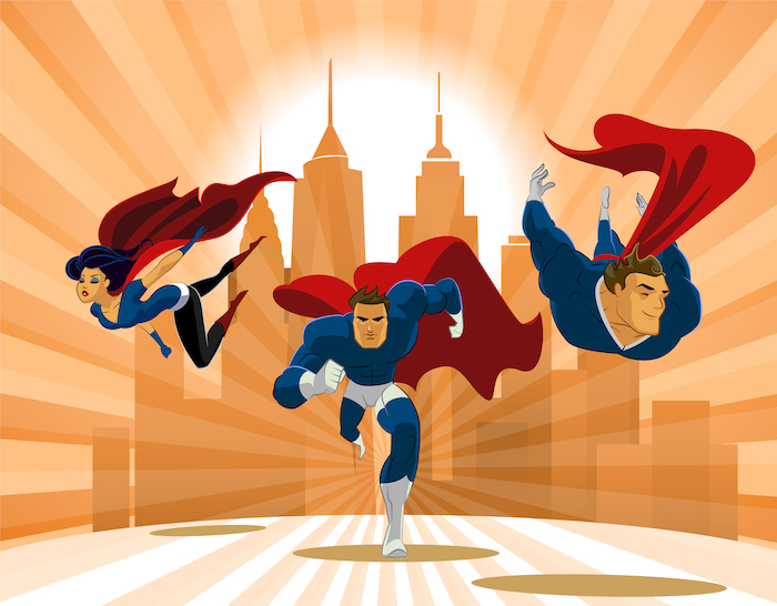 Cleaning Services Superheroes